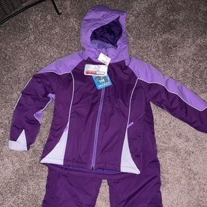 Girls New With Tags 3 in one snow outfit